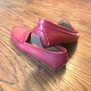 Bass Shoes - Bass Red Driver Loafer | NWOT